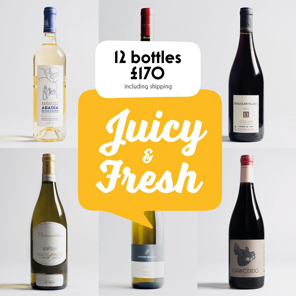 Case by Case: Juicy and Fresh! 12 bottle selection #2