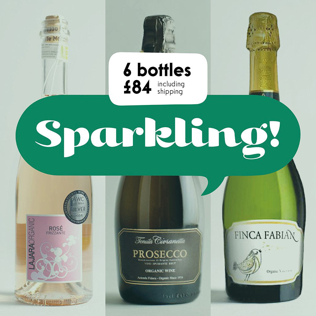 Case by Case: Sparkling! 6 bottle selection