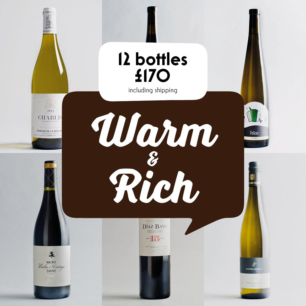 Case by Case: Warm and Rich! 12 bottle selection #2