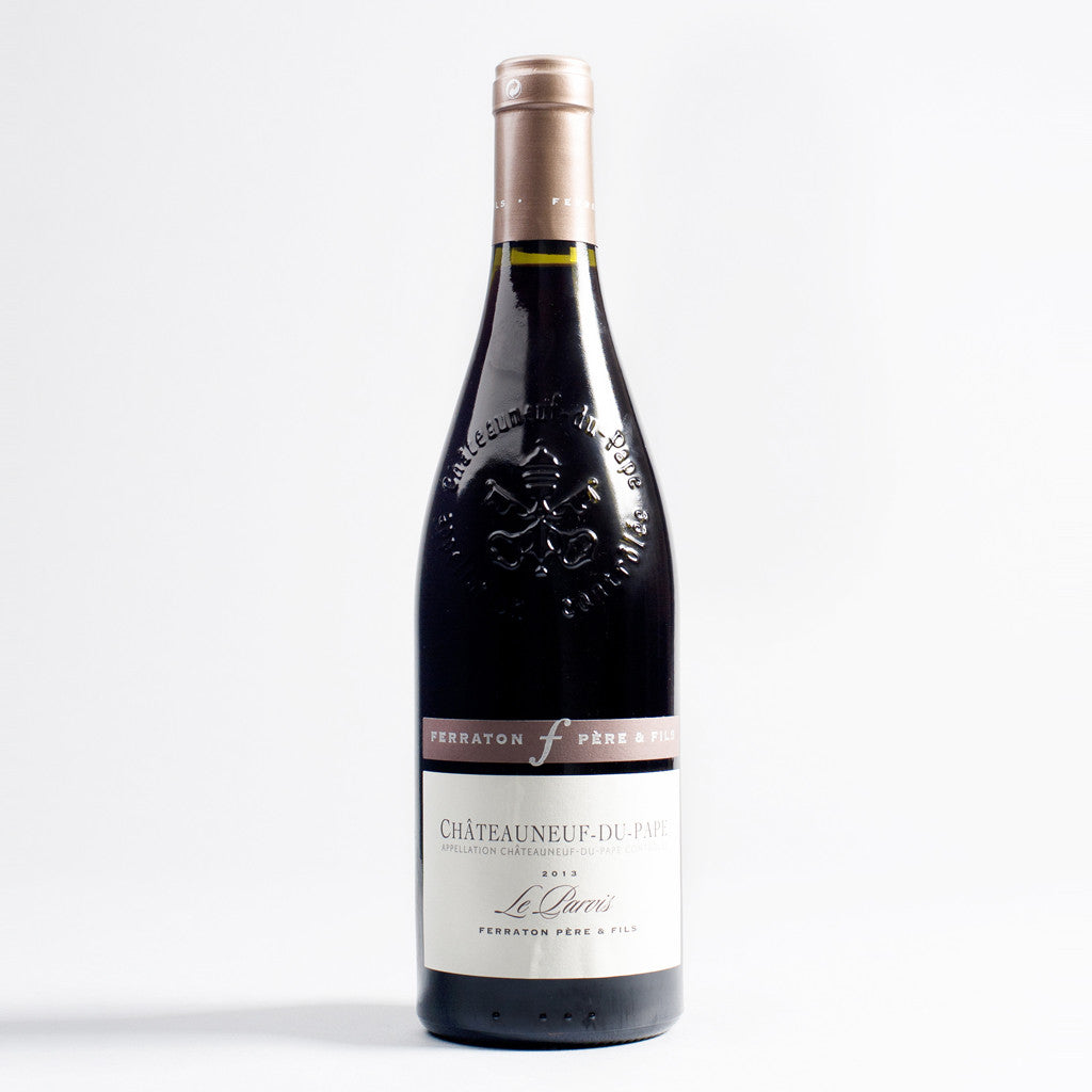 Chateauneuf du Pape Parvis Rouge, Domaine Ferraton, Northern Rhone, France 2015
