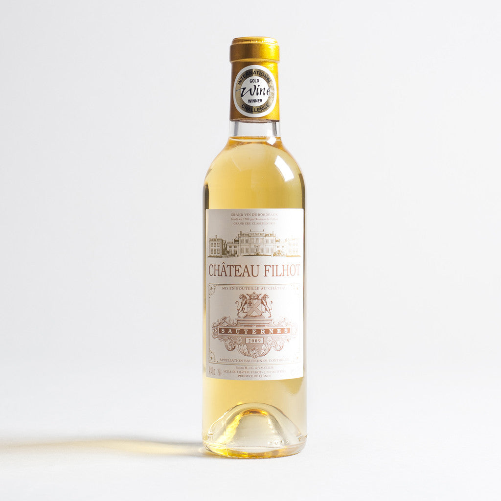 Chateau Filhot Sauternes (half bottle), Sauternes, France 2010