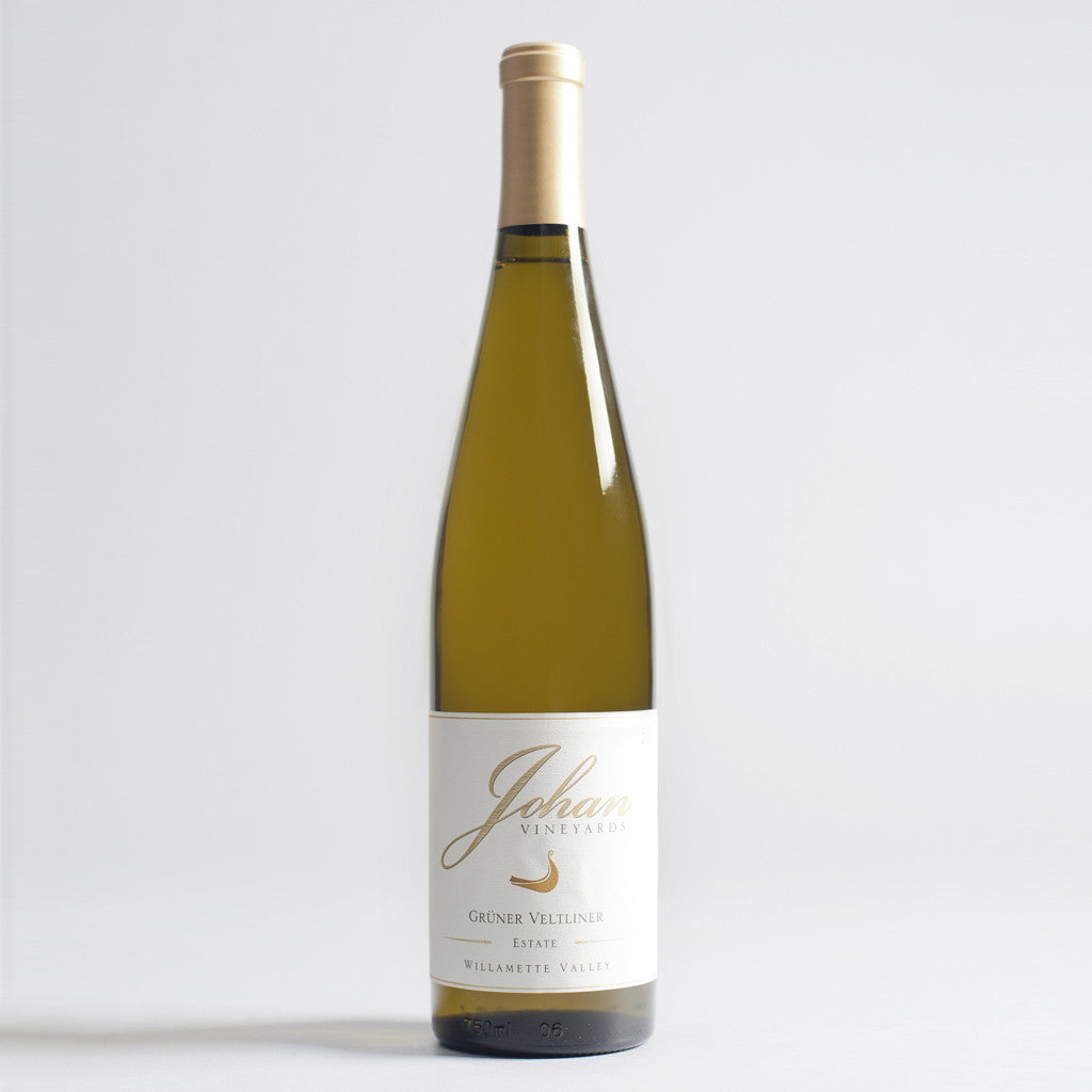 Gruner Veltliner Estate, Johan Vineyards, Willamette Valley, Oregon 2014