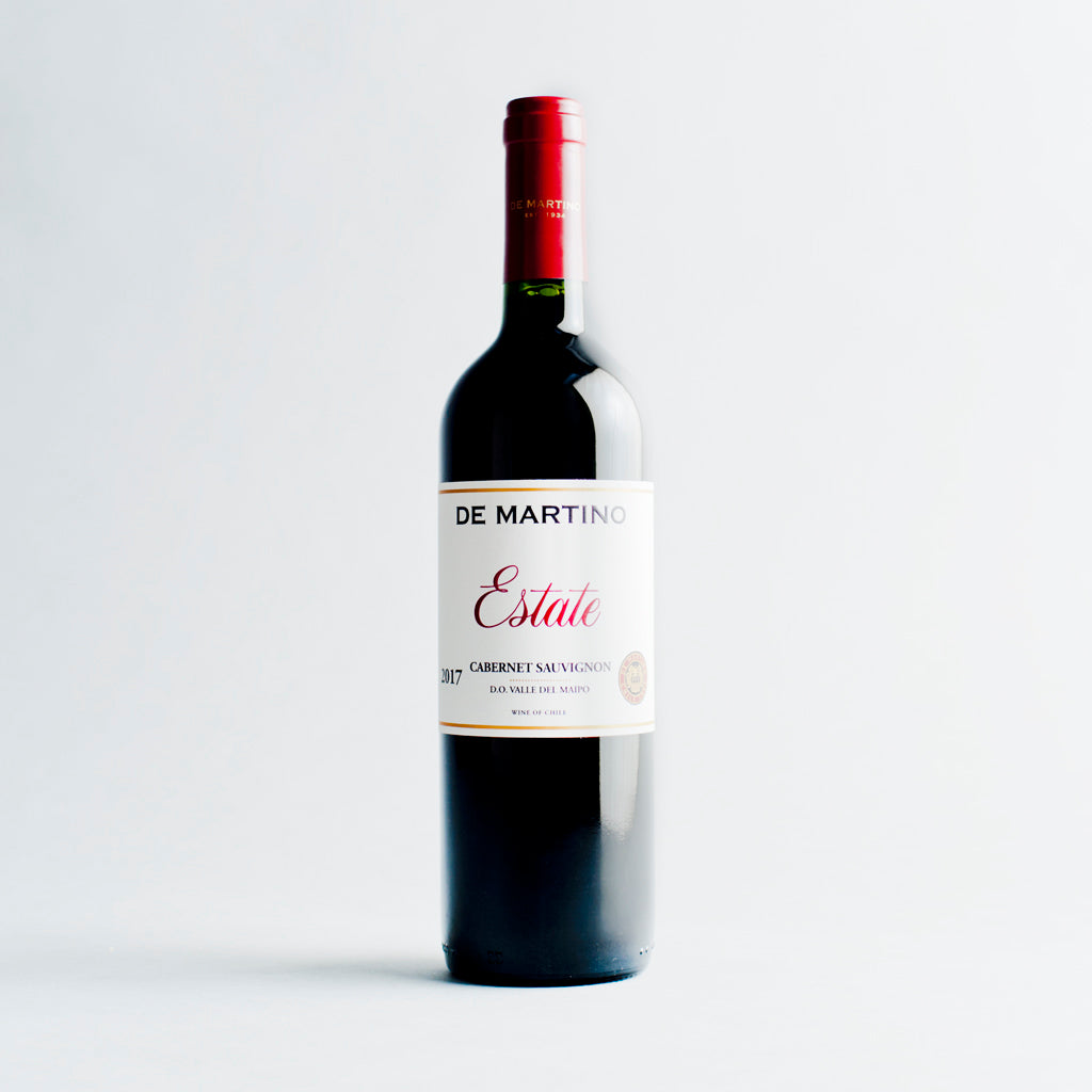 Estate Cabernet Sauvignon, De Martino, Maipo Valley, Chile 2017