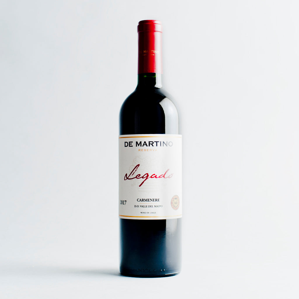Legado Carmenere, De Martino, Maipo Valley, Chile 2017