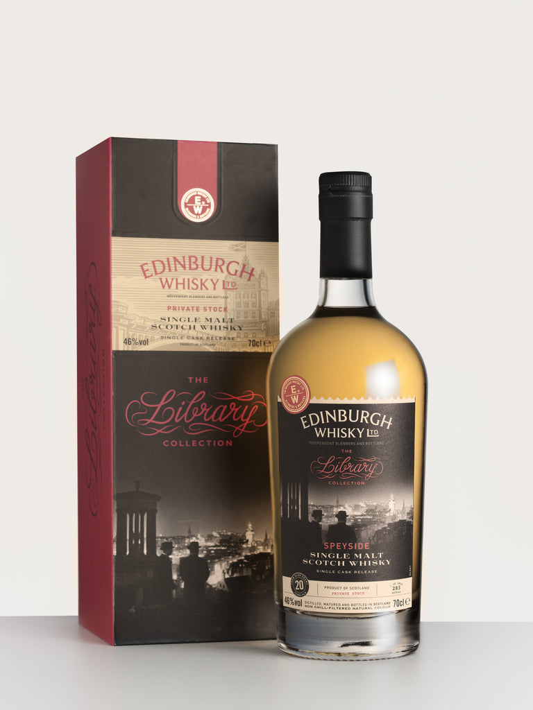 The Library Collection Speyside, Edinburgh Whisky Single Malt 46%vol.