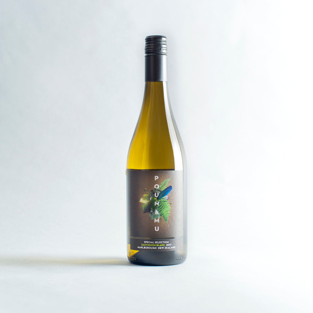 Sauvignon Blanc, Pounamu, Marlborough, New Zealand 2017
