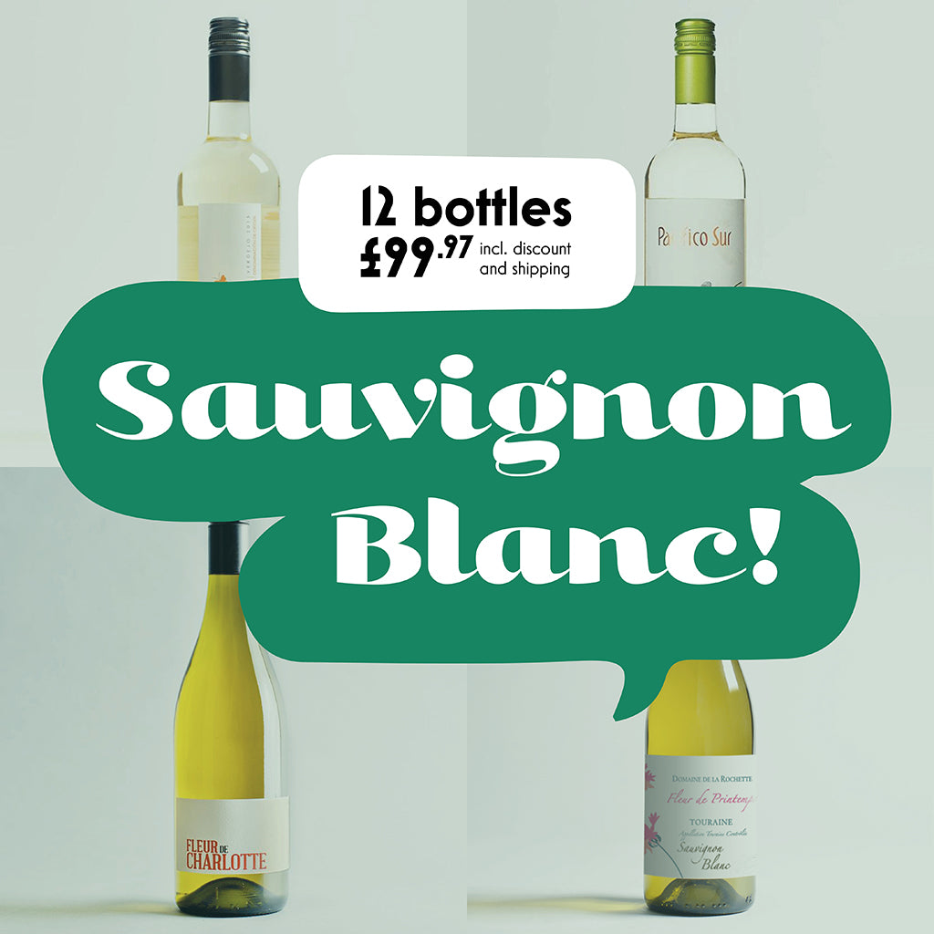 Case by Case: Sauvignon Blanc! 12 bottle selection