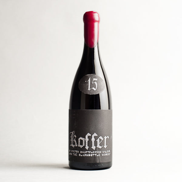Koffer (Cinsault), Blankbottle, South Africa 2015
