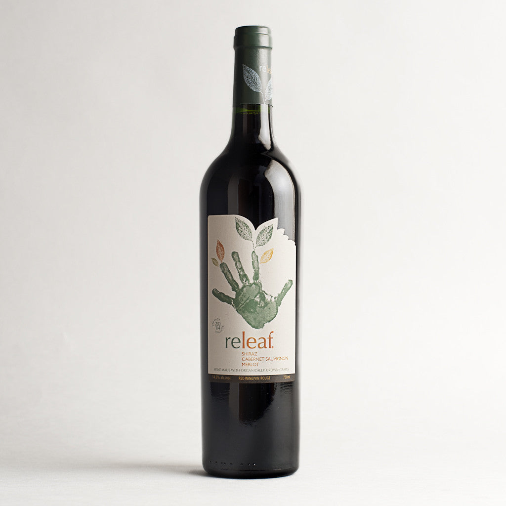 Releaf Red Blend, Western Cape, South Africa, 2016