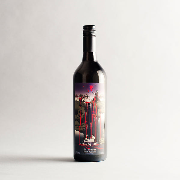 Samurai Shiraz, Free Run Juice, South Australia 2017