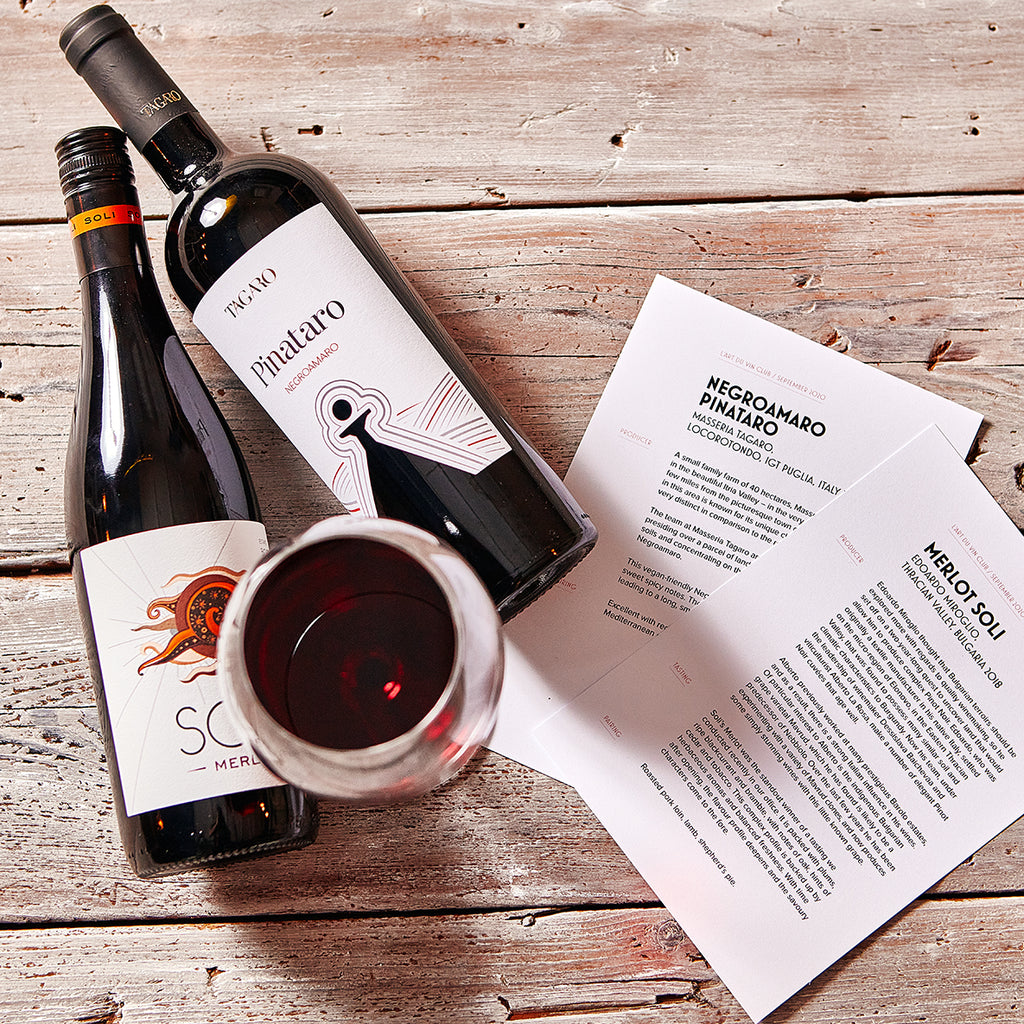 L'Art du Vin Club Monthly Subscription *Wee Case*