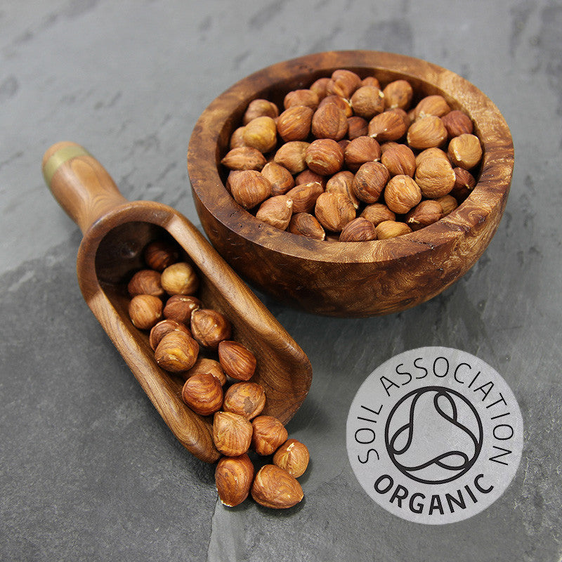 Hazelnuts Natural Shelled Organic