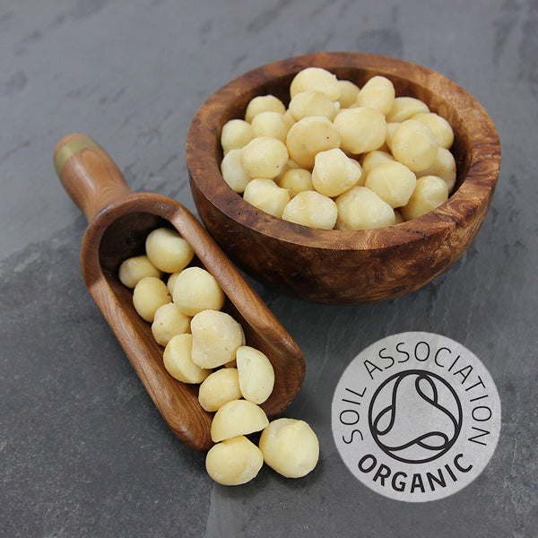 Macadamia Nuts Whole Organic