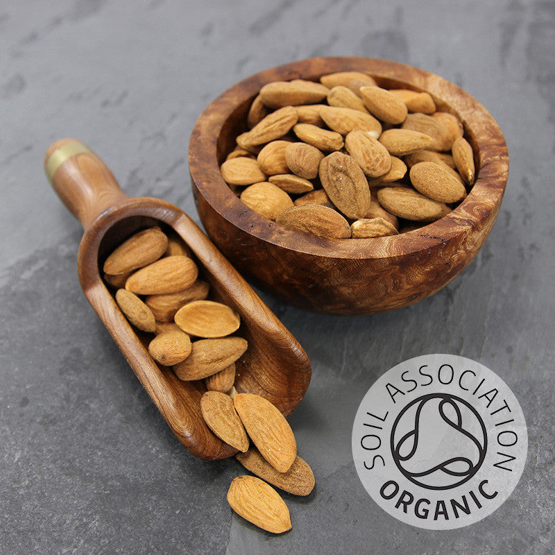 Almonds Natural Shelled Organic