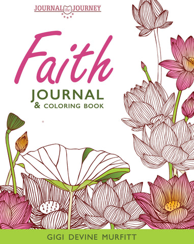 FAITH 8 x 10 Journal and Coloring Book