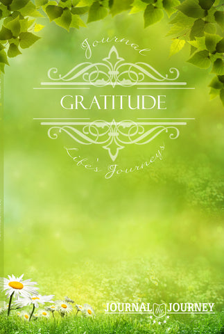 Journal Life's Journey of Gratitude