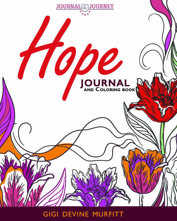 HOPE Journal 8 x 10 Journal & Coloring Book