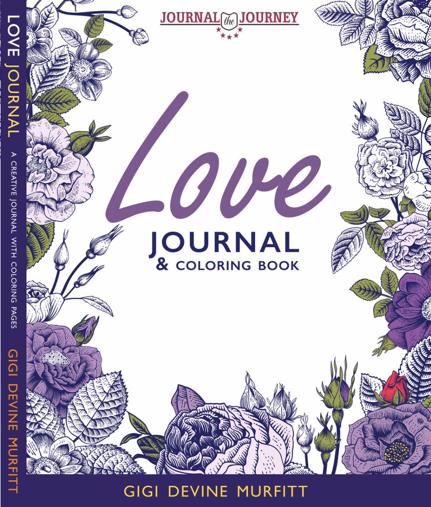 LOVE 8 x 10 Journal & Coloring Book