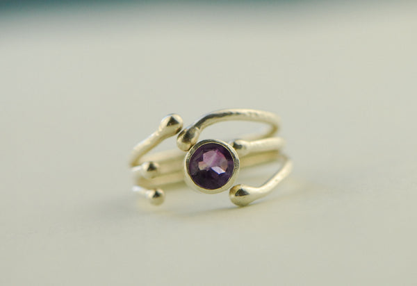 Branch Ring Amethyst
