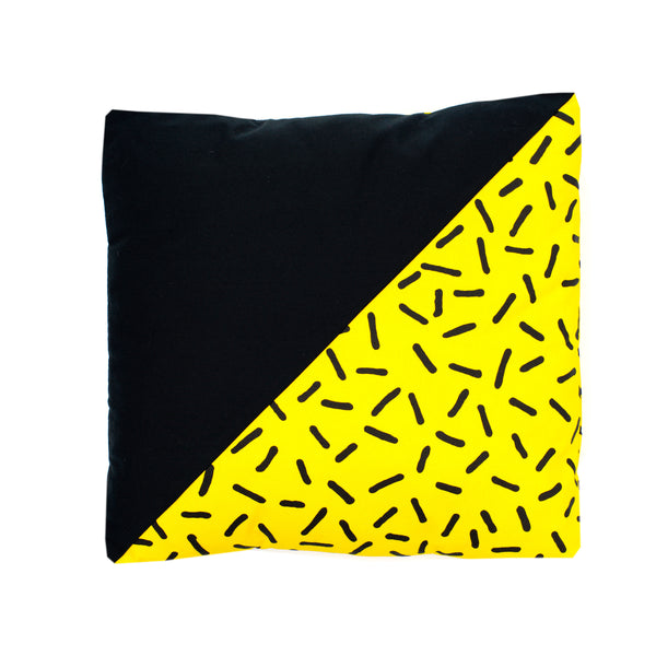 Coussin YELLOW POP
