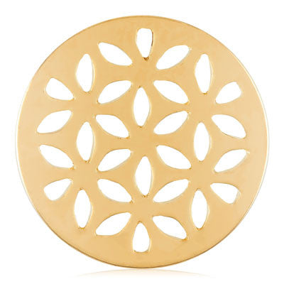 MIASŌL Lattice Sōl Coin - Gold