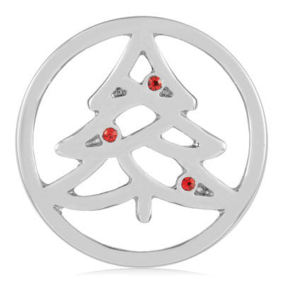 MIASŌL Holiday Tree Sōl Coin - Silver