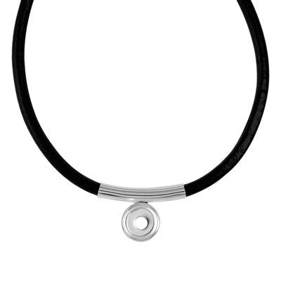 Lotti Dotties Moondrop Leather Necklace