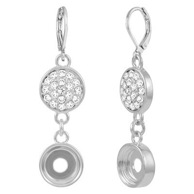 Lotti Dotties Crystal Clear Earrings