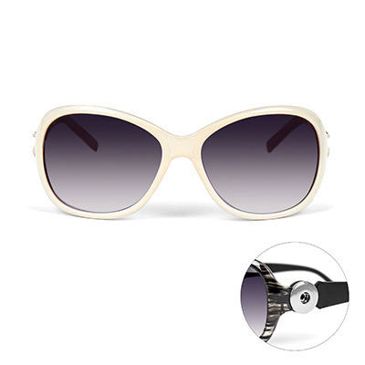 Sunglasses from Ginger Snaps - Pearly White