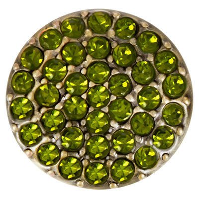 Ginger Snaps Brass Ritzy - Olivine Snap