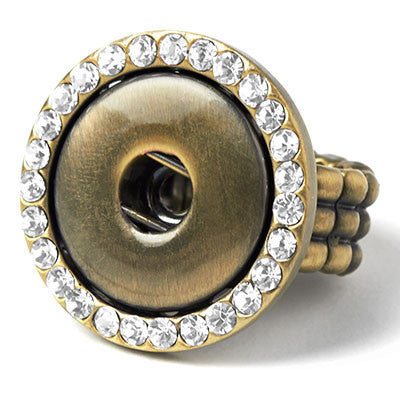 Ginger Snaps AB Stretch Snap Bling Ring