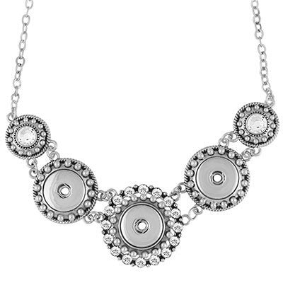 Ginger Snaps 3-Snap Statement Necklace