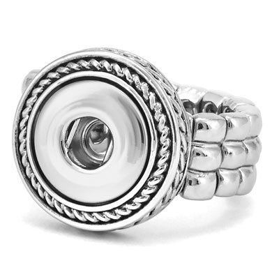 Petite Ginger Snaps Rope Stretch Ring