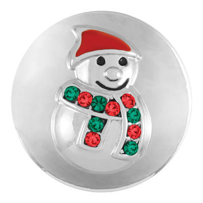Ginger Snaps Snow Man Holiday Snap