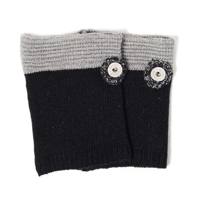 Ginger Snaps Colour Block Boot Cuffs - 2 colours available