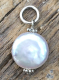 Beaucoup Pearl Coin Charm