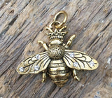 Beaucoup Queen Bee Charm
