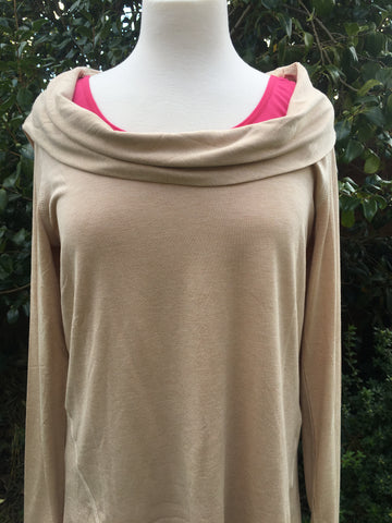 Karma Hooded Cowl Jumper - 2 colours available