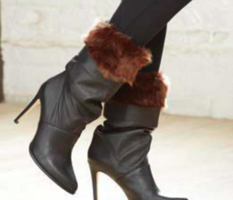 Faux Fur Wrist & Boot Cuffs - 4 colours available
