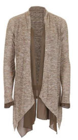 Ballet chiffon cardigan - 2 colours available