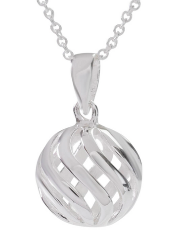 Sophie Oliver Barcelona Hollow Ball Necklace