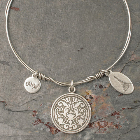 Beaucoup Bangle with Remember Charm