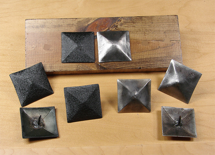 "Premium Large 2"" x 2"" Pyramid Clavos - Wild West Hardware"