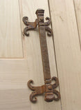 Bridge Door Pull with Mustache Mounts