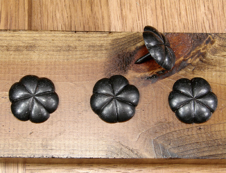 FLORAL Style Clavos - Wild West Hardware