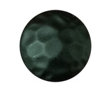 "Premium, 1"" diameter round clavos in matte black powder coat finish, top view - Wild West Hardware"