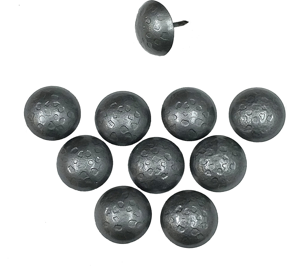 Pewter Finish Decorative Nails, Pewter Finish Clavos, 1 Inch Diameter (Various pack sizes)