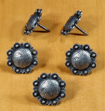 STUDDED Style Clavos - Pewter finish - Wild West Hardware
