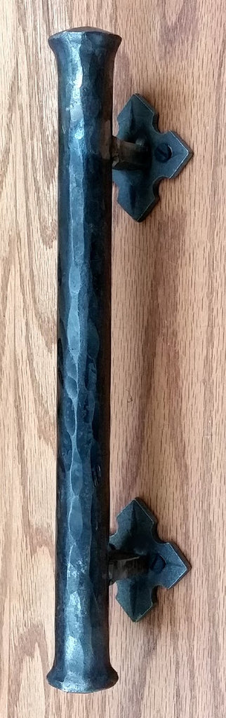 "Barn Door Handle - Door Pull - Round Bar Distressed - 1"" Dia. (NEW ITEM)"