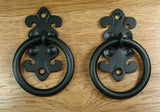 "Euro Style #2 - 4"" ring pull or door knocker - Wild West Hardware"